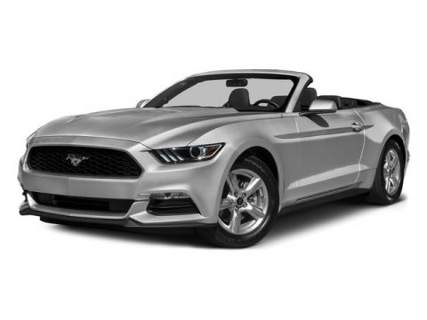Pre-Owned 2015 Ford Mustang V6 RWD Convertible