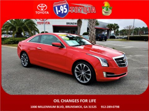 Pre-Owned 2016 Cadillac ATS Coupe Luxury Collection AWD AWD 2dr Car