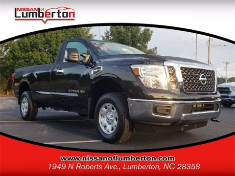 Certified Pre-Owned 2018 Nissan Titan XD SV 4WD Regular Cab Pickup