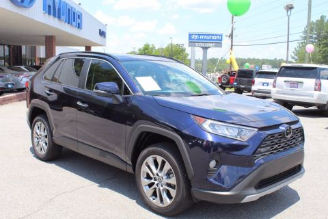 Pre-Owned 2019 Toyota RAV4 Limited FWD Sport Utility