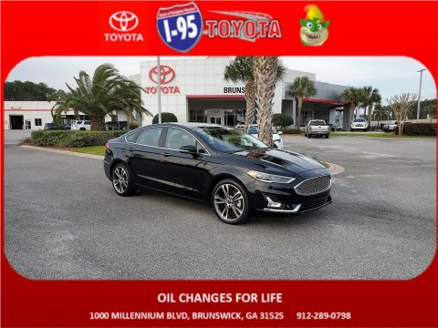 Pre-Owned 2019 Ford Fusion Titanium AWD 4dr Car