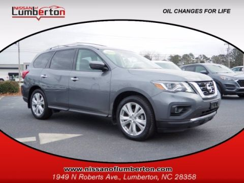Certified Pre-Owned 2018 Nissan Pathfinder SL FWD Sport Utility