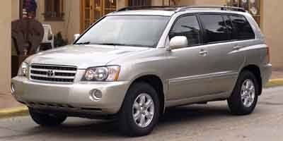 2003 Toyota Highlander 4DR 4WD V6 AT