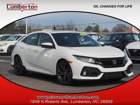 Pre-Owned 2018 Honda Civic Hatchback Sport Touring FWD Hatchback